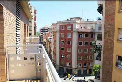 Apartments in new building in Gracia district of Barcelona